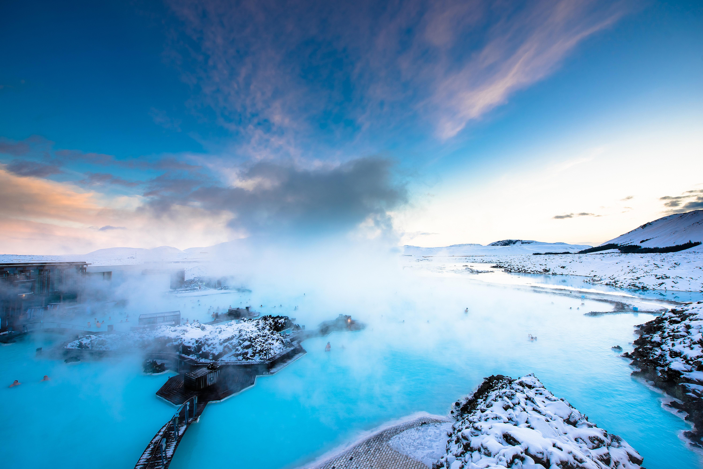 冰岛蓝湖高清大图