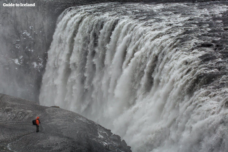 冰島的黛提瀑布